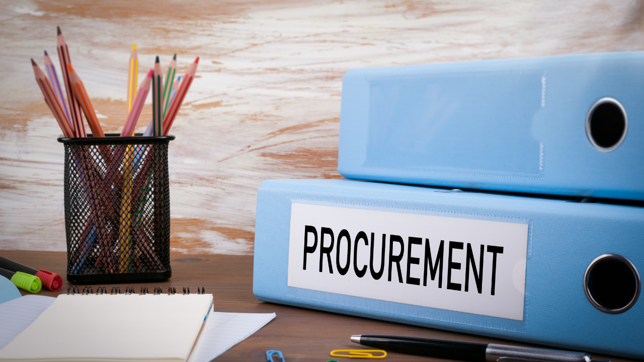 Challenges faced within the procurement process
